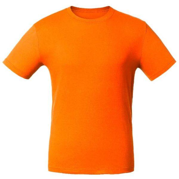 Футболка промо-лайт оранжевая