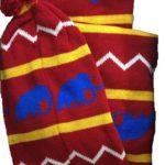 Вязаный комплект: шапка-шарф