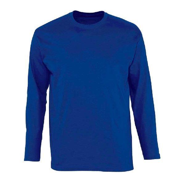 Футболка с длинным рукавом (лонгслив) синий
