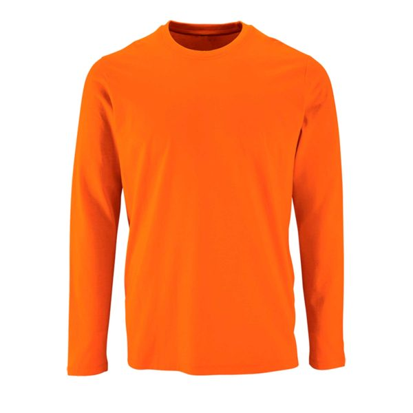 Футболка с длинным рукавом (лонгслив) оранжевый