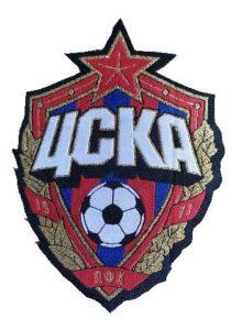 Жаккардовый шеврон герб ЦСКА