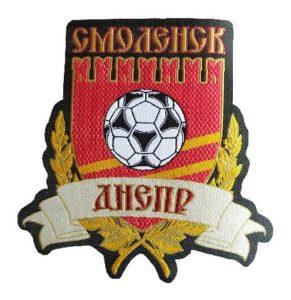 Жаккардовый шеврон герб Днепр Смоленск