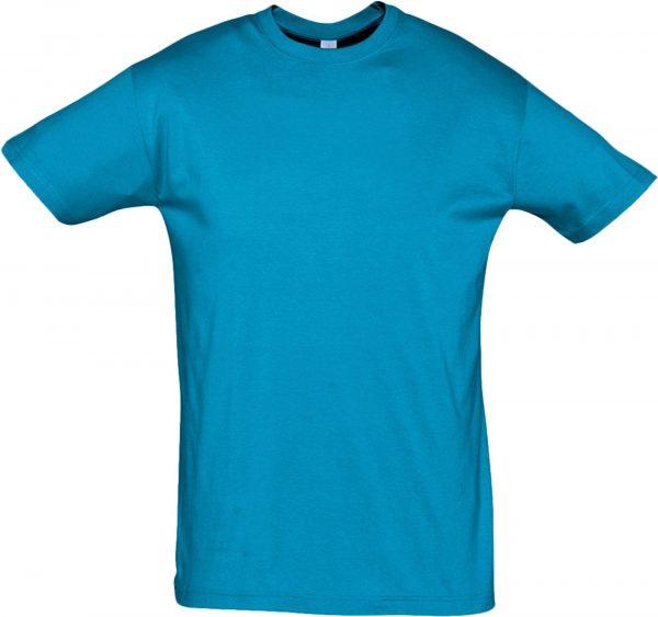 Футболка Премиум Пенье цвет голубой