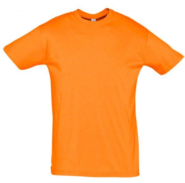 Футболка Премиум пенье, цвет оранжевый