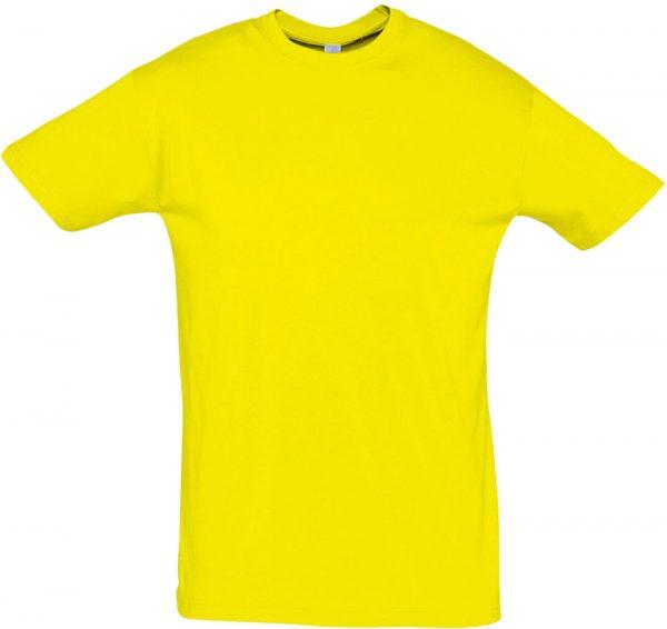 Футболка Премиум Пенье цвет желтый