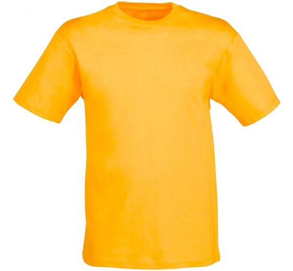 Футболка детская Премиум-180 цвет темно-желтый