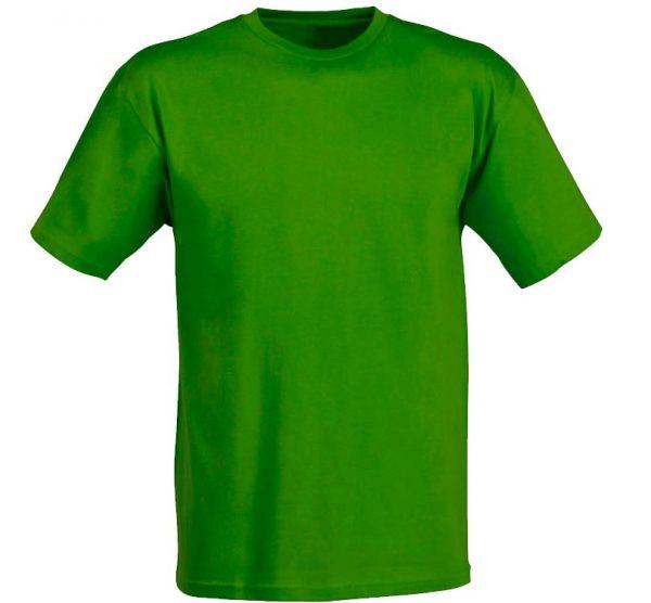 Футболка детская Премиум-180 цвет зеленый