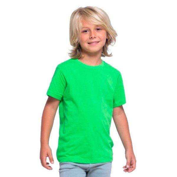 Футболка детская премиум Пенье, цвет лайм