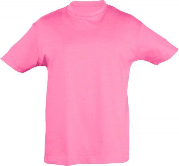 Футболка детская премиум Пенье, цвет розовый
