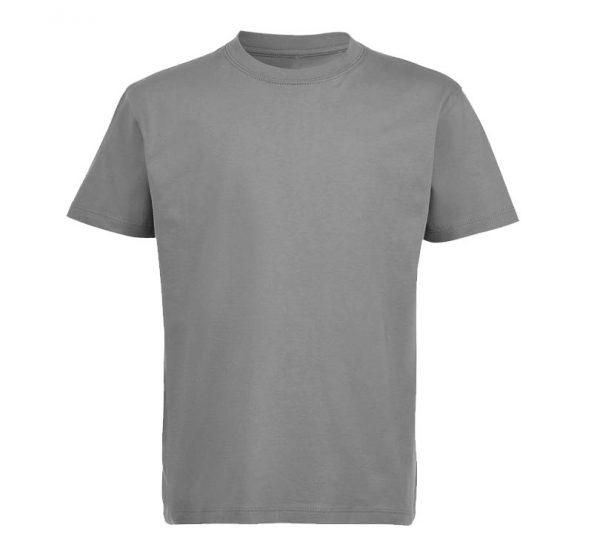 Футболка детская Премиум-180 цвет серый