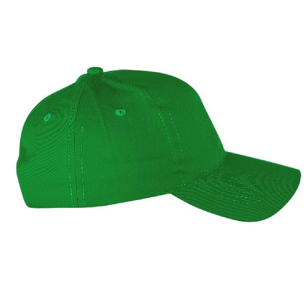 Бейсболка Классик, цвет зеленый