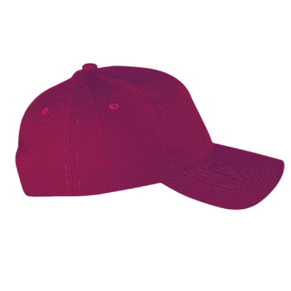 Бейсболка Классик, цвет бордовый
