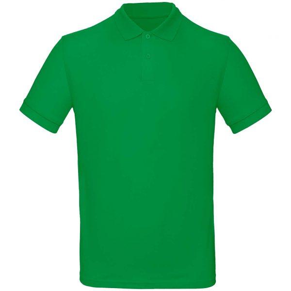 Поло Премиум пенье цвет зеленый