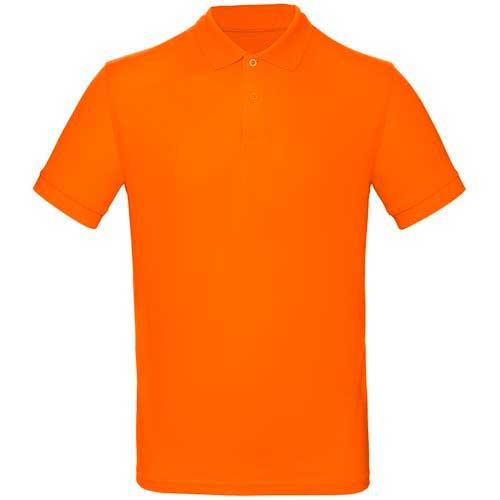 Поло Премиум пенье цвет оранжевый