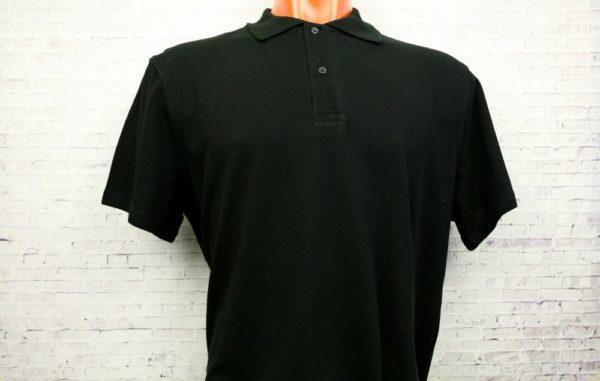 Рубашка поло мужская чёрный