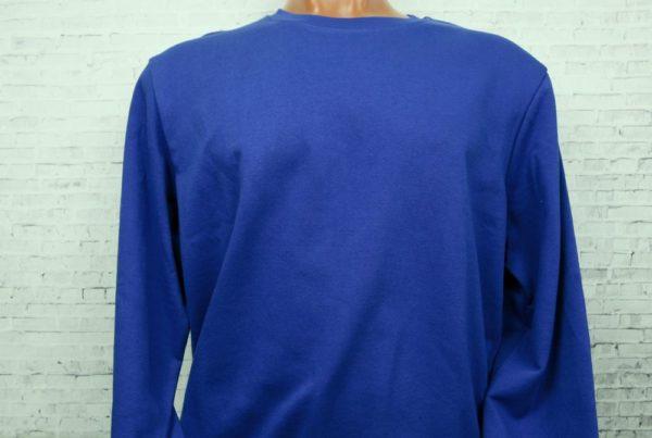 Толстовка синяя (василек)