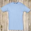 Голубая футболка Премиум