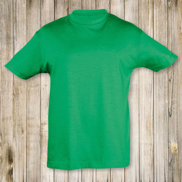Зеленая футболка Премиум