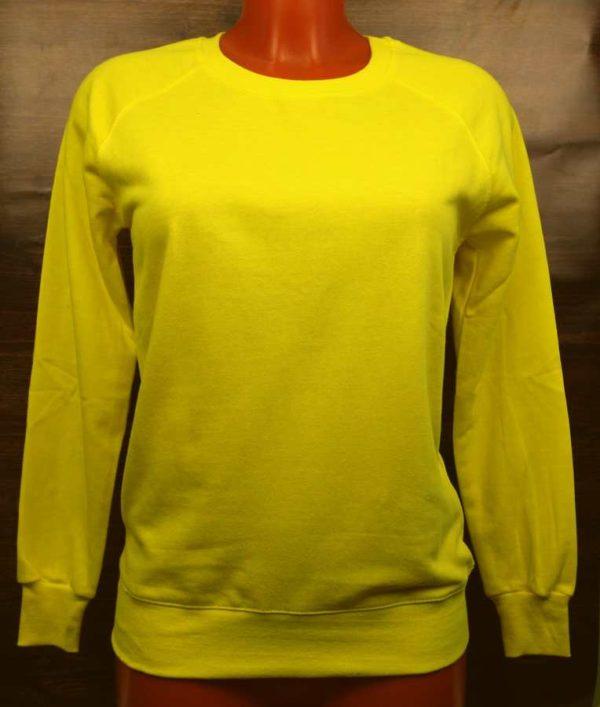 Свитшот женский желтый