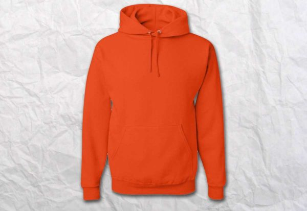Худи (кенгуру) оранжевая