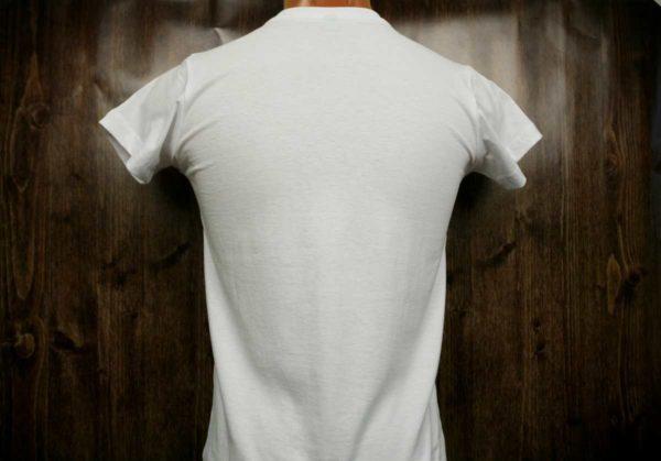 Белая промо футболка