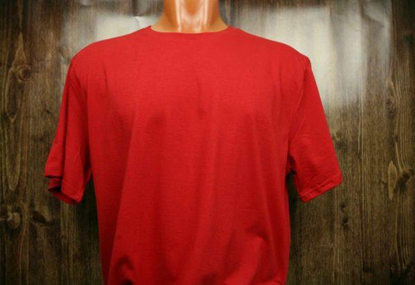 Красная промо футболка