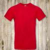 Красная футболка Премиум