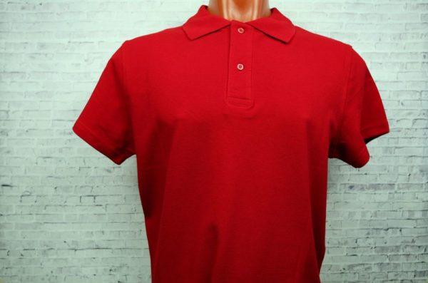 Рубашка поло мужская красный