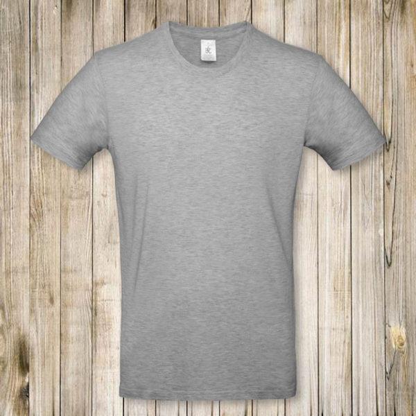 Серая футболка Премиум