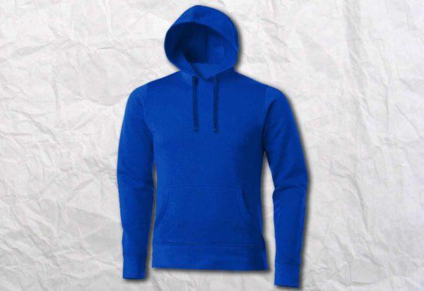 Худи (кенгуру) синяя (василек)
