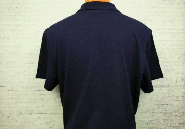 Поло темно-синее