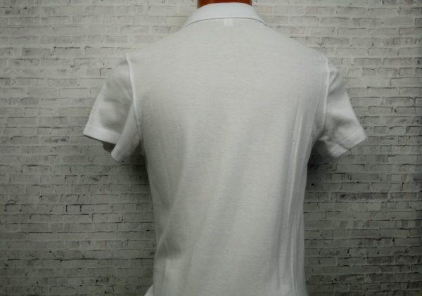 Рубашка поло белая