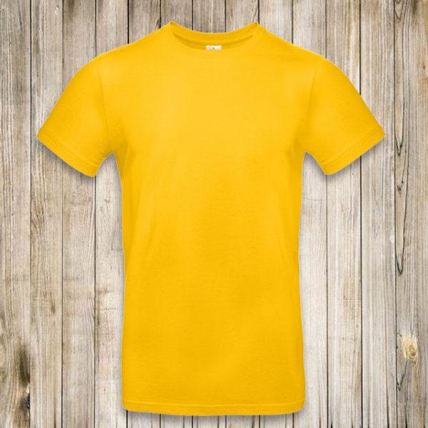 Желтая футболка Премиум