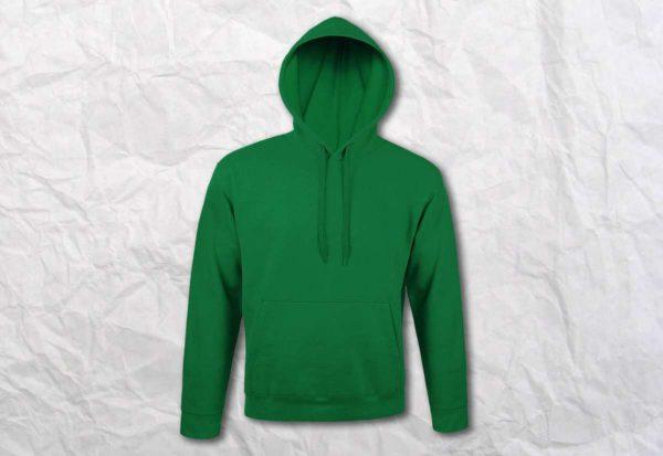 Худи (кенгуру) зеленая
