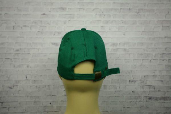 Бейсболка зеленая полувелюр